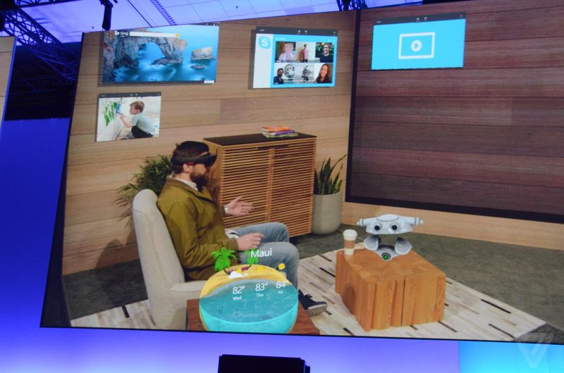 Windows Holographic Platform. -2